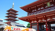 Chùa Sensoji ở Nhật Bản