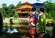 Chùa vàng Kinkakuji được ví như Tây Kinh của nước Nhật