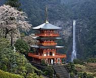 Thác nước Nachi thác nước dài nhất tại Nhật Bản