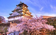 Thành phố Osaka của Nhật Bản nổi tiếng với sắc đỏ của mùa thu