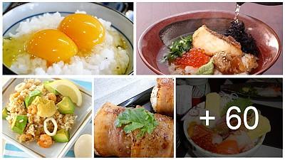 60 món ăn truyền thống phổ biến nhất ở Nhật