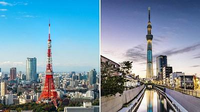 Bạn Có Phân Biệt Được Tháp Tokyo Và Tokyo Skytree Khi Tới Nhật Bản Không?