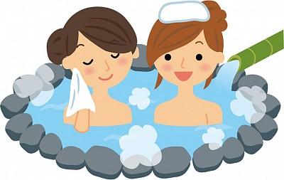 Giải mã khăn đội đầu khi tắm suối nước nóng ở Nhật Bản