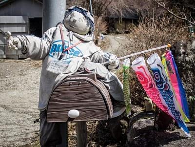 Kỳ lạ ngôi làng tại Nhật với những ''búp bê ma''