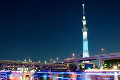 Ngắm nhìn toàn cảnh thành phố từ Tokyo Skytree
