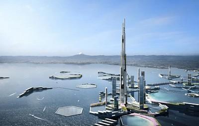 Nhật Bản dự định xây tháp cao nhất thế giới