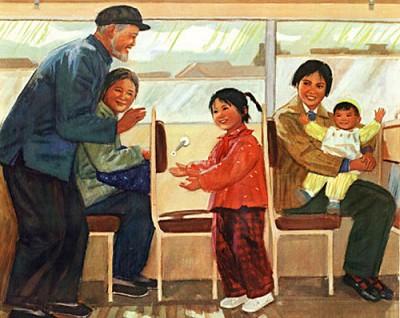 Vì sao người già Nhật Bản không ngồi khi đi tàu xe công cộng?