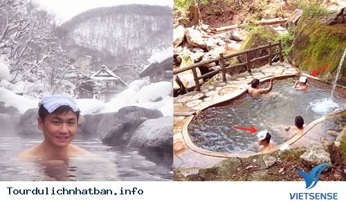 Giải mã khăn đội đầu khi tắm suối nước nóng ở Nhật Bản - Ảnh 2