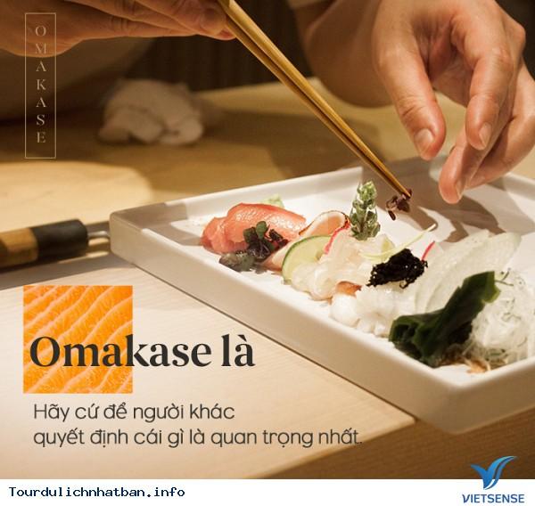 Nhà hàng Omakase - nơi bạn không biết mình sẽ được ăn gì - Ảnh 1