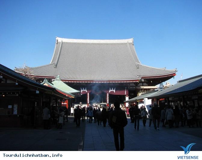 Chùa Asakusa Kannon - Ngôi chùa đẹp và cổ nhất Nhật Bản - Ảnh 2