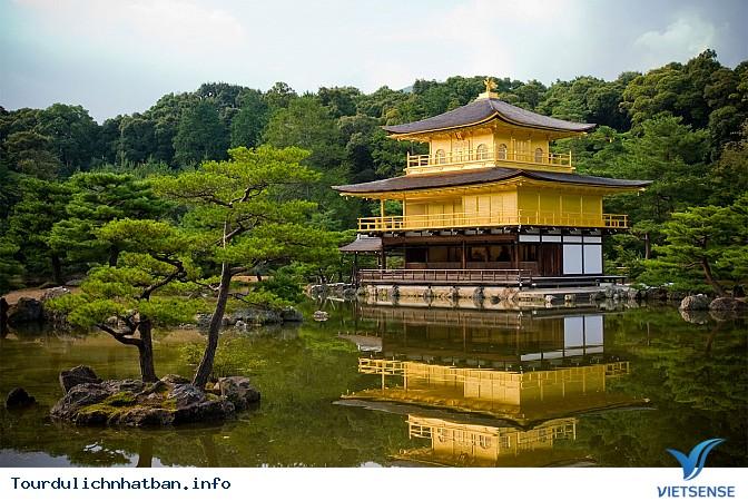Khám phá ngôi chùa vàng Kinkakuji tại Nhật Bản - Ảnh 1
