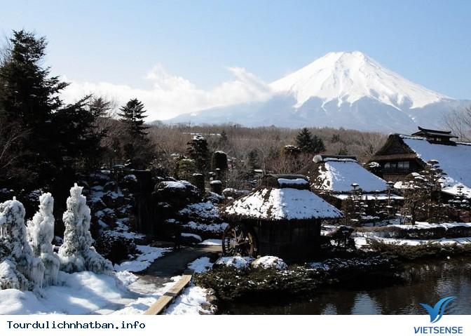 Khám phá ngôi làng cổ Oshino Hakkai dưới chân núi Phú Sĩ - Ảnh 3