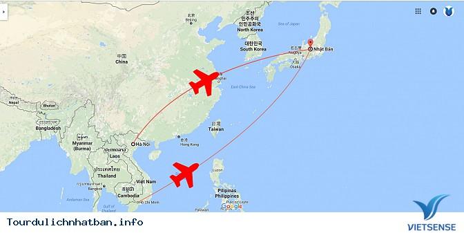Khoảng cách từ Việt Nam đến Nhật Bản là bao xa? - Ảnh 1