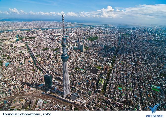 Ngắm nhìn toàn cảnh thành phố từ Tokyo Skytree - Ảnh 1