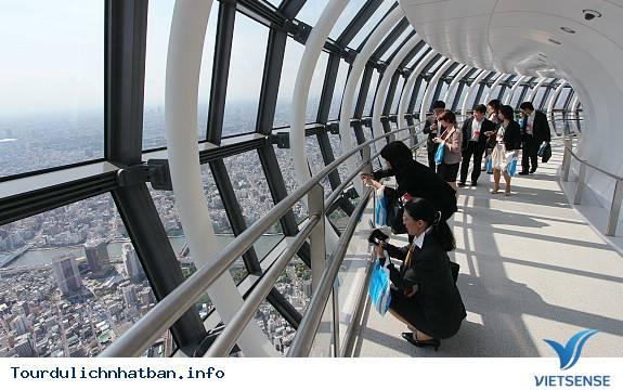 Ngắm nhìn toàn cảnh thành phố từ Tokyo Skytree - Ảnh 3