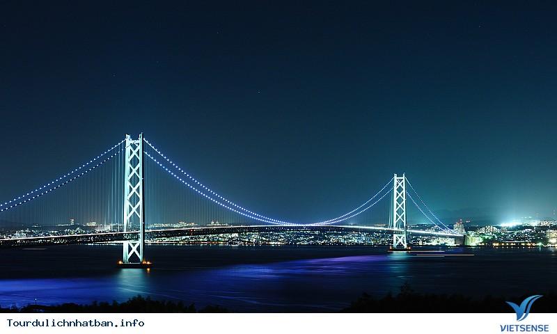 Akashi Kaikyo - Cầu treo dài nhất thế giới tại Nhật Bản - Ảnh 2