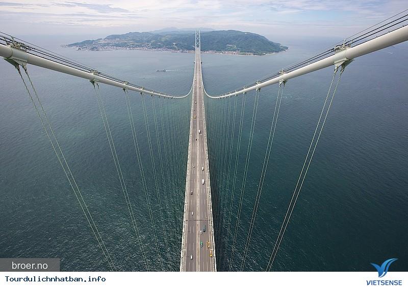 Akashi Kaikyo - Cầu treo dài nhất thế giới tại Nhật Bản - Ảnh 3