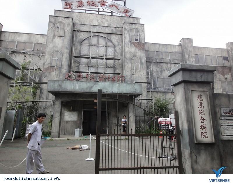 Bệnh viện ma ám rùng rợn nhất thế giới tại Nhật Bản - Ảnh 1
