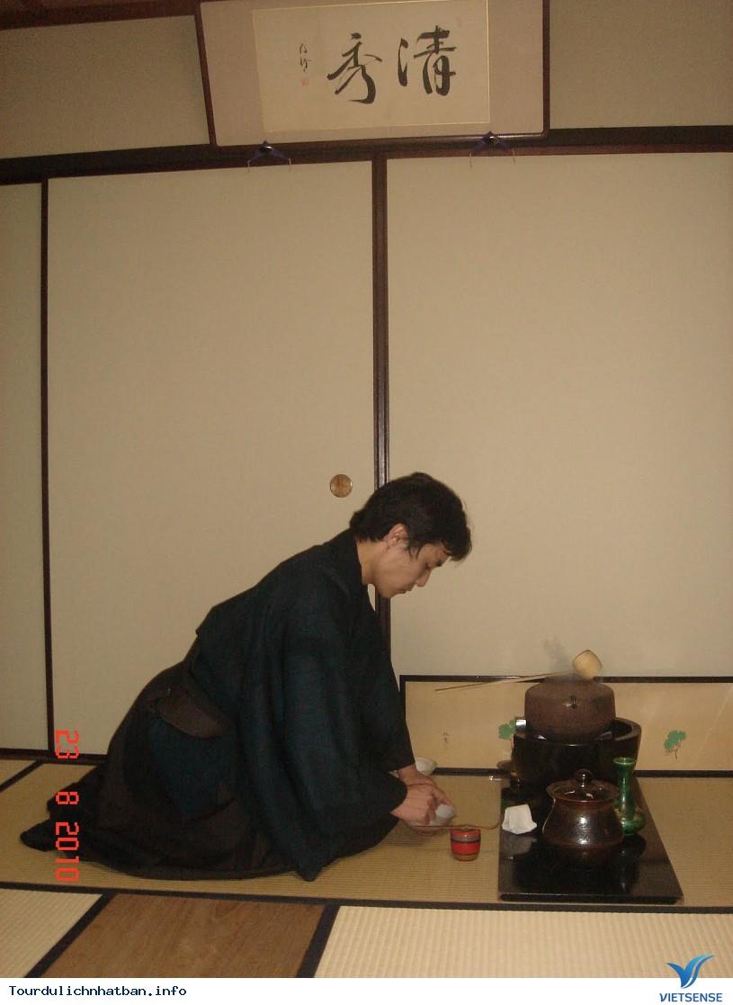 Quán trà đạo Bikoen nổi tiếng lâu đời tại Kyoto Nhật Bản - Ảnh 3