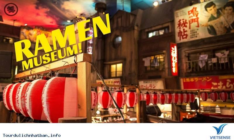 Chiêm Ngưỡng Bảo tàng Mỳ Ramen Shinyokohama