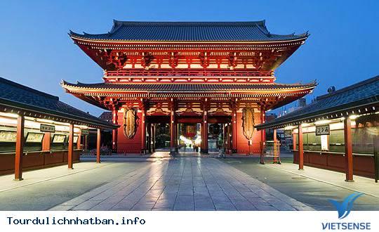 Chùa Asakusa Kannon - Ngôi chùa đẹp và cổ nhất Nhật Bản - Ảnh 1