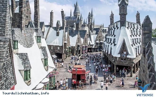Công viên Harry Potter ở Osaka Nhật Bản