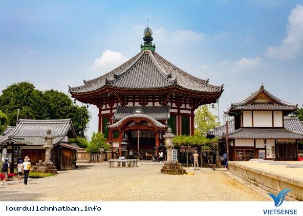 Ghé thăm cụm di tích thành cổ Nara tại Nhật Bản