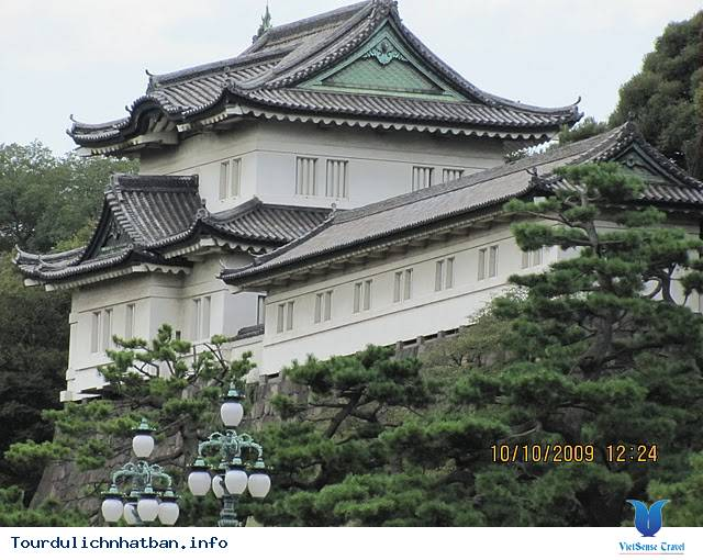 Hoàng Cung Tokyo Nhật Bản