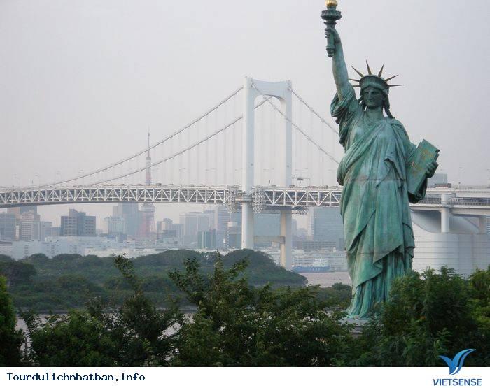 Khám phá đảo nhân tạo Odaiba ở Nhật Bản