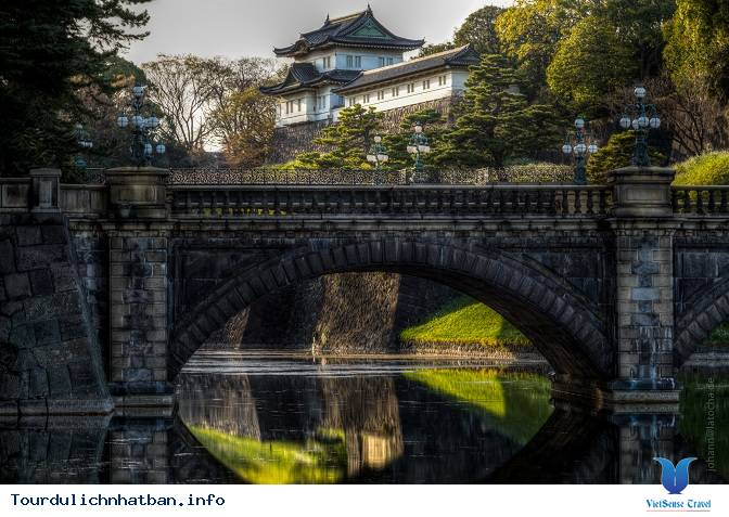 Khám phá Hoàng Cung Tokyo Imperial Palace - Ảnh 4