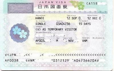 Kinh Nghiệm Xin Visa Và Làm Hồ Sơ Đi Du Lịch Nhật Bản
