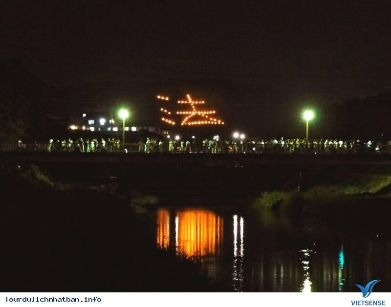 Lễ Hội Đốt Chữ Trên Núi Vô Cùng Rực Rỡ Của Nhật Bản - Ảnh 3