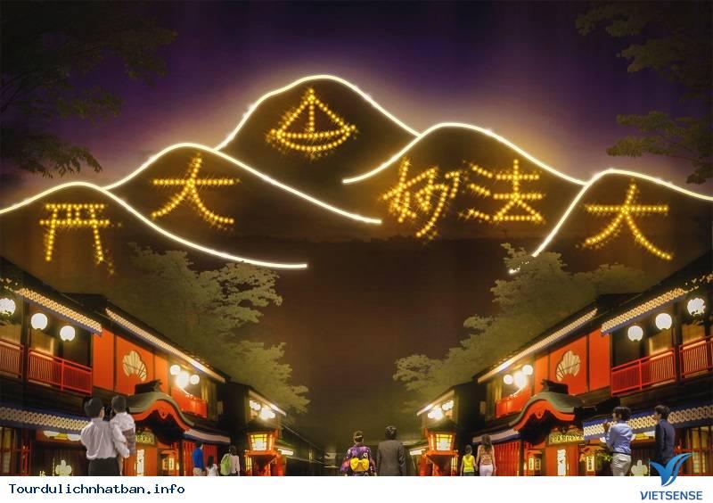 Lễ Hội Đốt Chữ Trên Núi Vô Cùng Rực Rỡ Của Nhật Bản