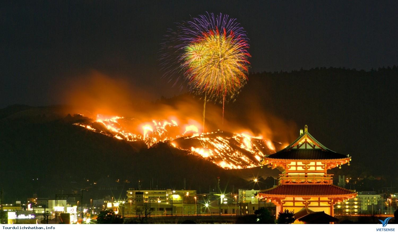 Ngạc Nhiên Với Lễ Hội Đốt Núi Ở Nhật Bản - Ảnh 1