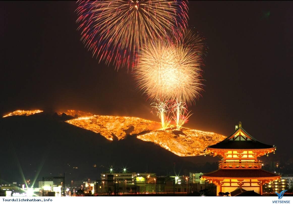 Ngạc Nhiên Với Lễ Hội Đốt Núi Ở Nhật Bản - Ảnh 3