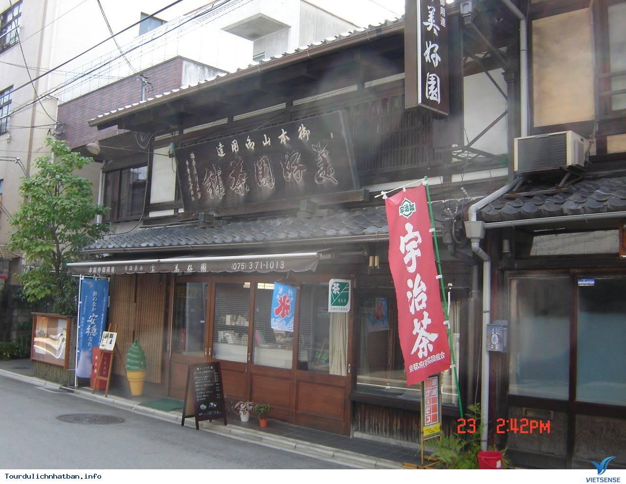 Quán trà đạo Bikoen nổi tiếng lâu đời tại Kyoto Nhật Bản